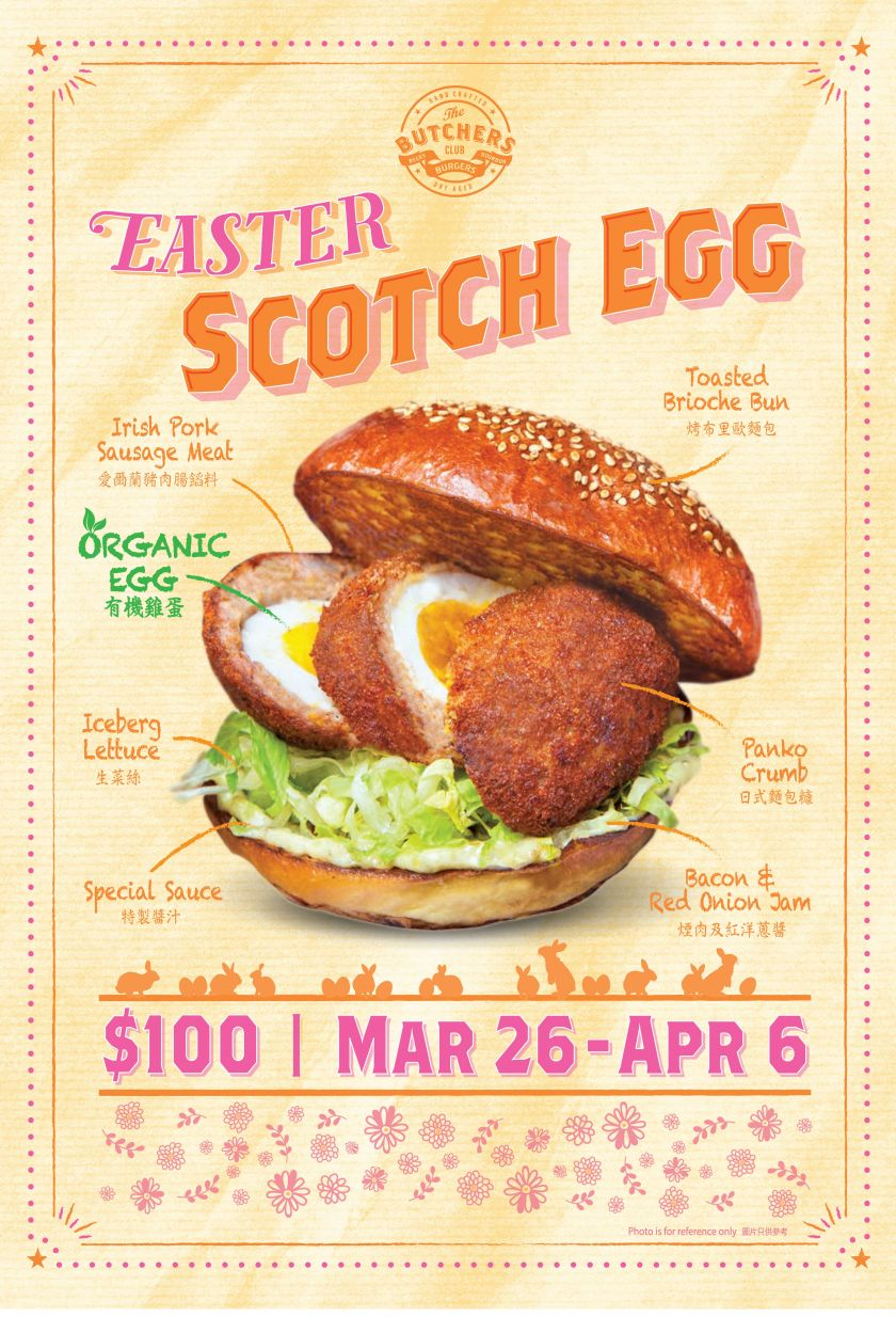 Easter Scotch Egg